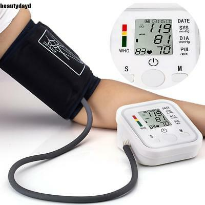 Push Button Automatic Upper Arm Blood Pressure Cuff Monitor in Case BD6D