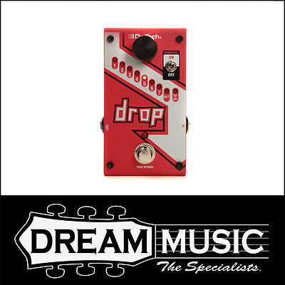 Brand New DigiTech Drop - Polyphonic Drop Tune Pitch-Shift Effects Pedal RRP$349