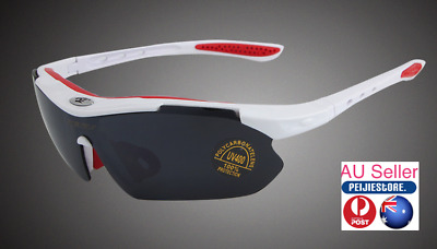 ROBSBON 100% UV Protection Outdoor Sports Sun Glasses
