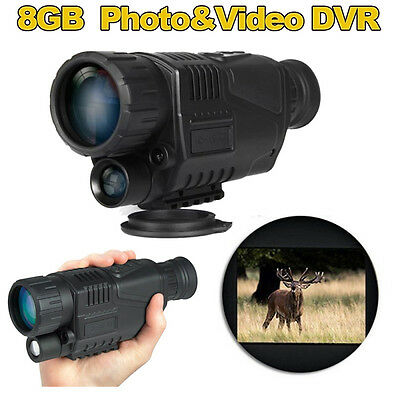 Night Vision Camera Goggles Monocular IR Security Surveillance Hunting scope HOT