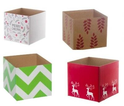 25 GIFT BOXES MINI POSY BOX Christmas Weddings Flowers Table no lid posie hamper