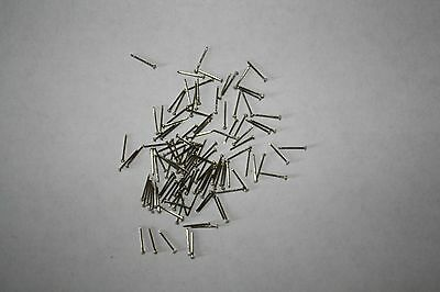 Pack of tiny new Steel 10mm nails/pins/tacks for antique/vintage clock repairs