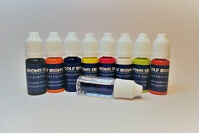 Golf Club Infill Paint + Cleaner For Irons,Woods,drivers,Putters,Wedges