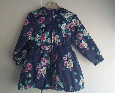 Marks and Spencer M&S Girls Floral Rain Mac/Jacket 18-24 Months