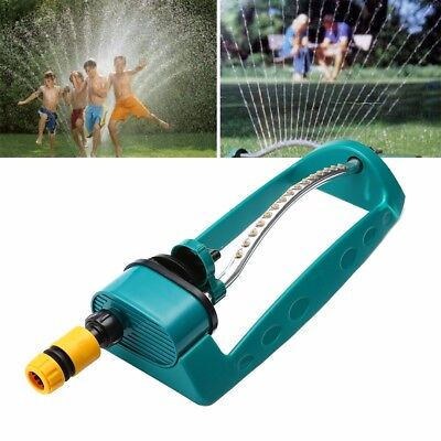 Alloy Watering Sprinkler Sprayer Oscillating Oscillator Lawn Garden Adjustable