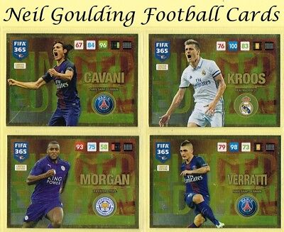 Panini FIFA 365 2016-2017 UPDATE ☆☆☆☆☆ LIMITED EDITION ☆☆☆☆☆ Football Cards