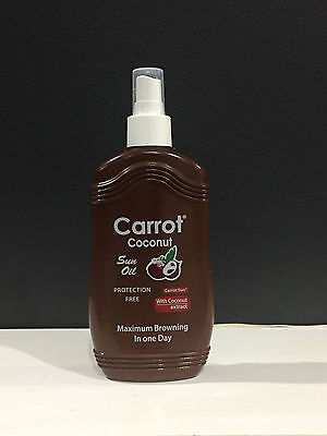 Carrot Oil Tanning Lotion - Coconut