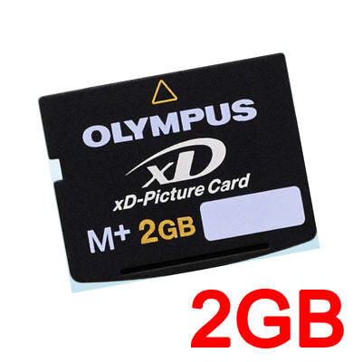 Olympus 2G 2GB XD Picture Memory Card Type M+ M-XD2GMP For OLYMPUS FUJIFILM