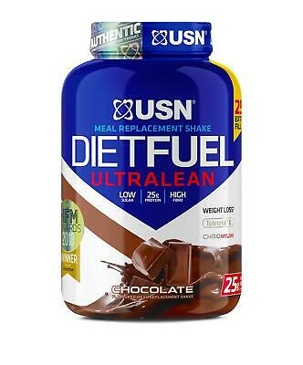 USN Diet Fuel Ultralean Meal Replacement Weight Loss Protein Shake 2Kg