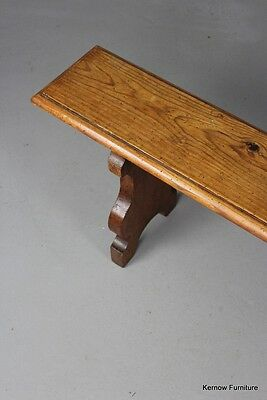 Long Rustic Pine Hall Kitchen Bench
