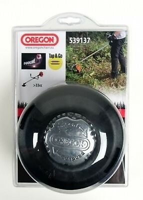 OREGON TAP & GO HEAVY DUTY STRIMMER BRUSHCUTTER HEAD for machines 33cc and above