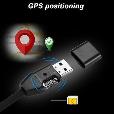 Micro USB Charger Cable GPS Locator Voice Listening GSM GPRS Real Time Tracking
