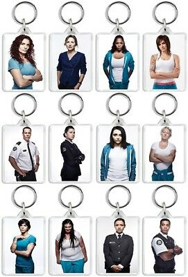 Wentworth Prison Keyrings TV And DVD Inspired Birthday' Christmas' UK Item