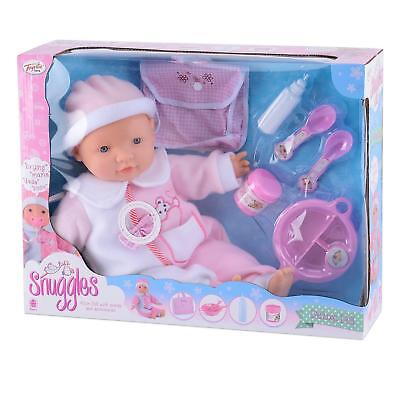 Girls Boys Deluxe Baby Doll Amelia Interactive Sounds & Accessories Playset Gift