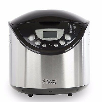 Russell Hobbs 22710 Bread Maker with 10 programmes Stainless Steel New