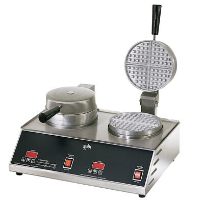 Star SWB7R2E Standard Double 7in Round Waffle Baker