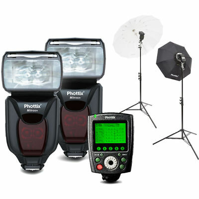 Phottix Mitros+ Portrait Anywhere 2 Kit for Canon