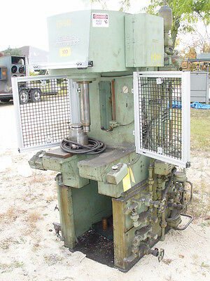 10 Ton Denison C-Frame Hydraulic Multi-Press w/Safety Enclosure #T100LA72S210