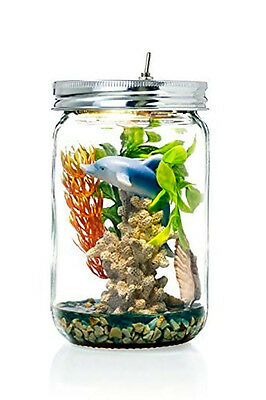 Marmelada Sea Life Story In a Jar Night Light Baby Nursery Room Bedtime Led Lamp
