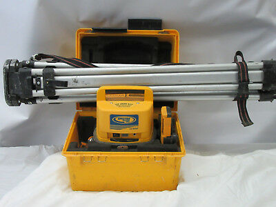 Make Us A Solid Offer SPECTRA PRECISION LL500 + HL700 ROTARY LASER LEVEL TRANSIT