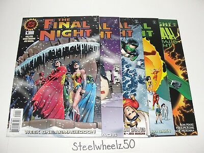 Final Night #1-4 & Parallax Emerald Night Special Comic Lot DC 1996 Hal Jordan