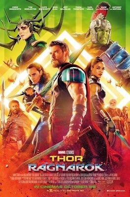 "Thor - Ragnarok ( 11"" x 17"" ) Movie  Collector's  Poster Print  (T4) - B2G1F"