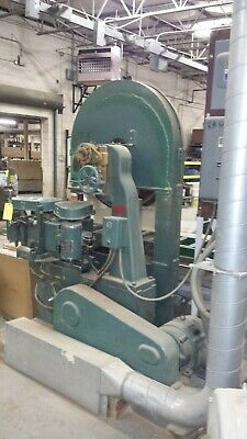 "36"" TriState Wood Cutting #T36-4 Resaw by Kimwood 20 Hp 230/460V - A1 CONDITION!"