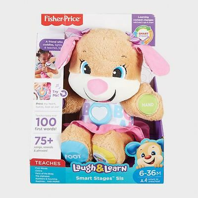 NEW Fisher-Price Laugh & Learn Smart Stages™ Sis