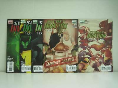 Secret Invasion Front Line # 1-5 - Complete Marvel Comics Limited Series (Origin