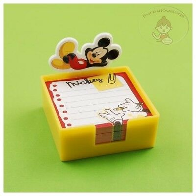 Mickey Mouse 200 Sheets Notepad In Plastic Tray/cute Memo Pad/cute Notepad #b