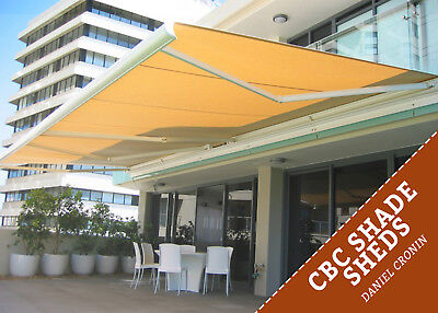 DIY Durable Heat Shade 2x2 Retractable Awning in Wagga Wagga, New South Wales
