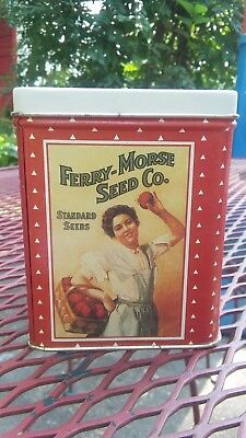 D.M. Ferry-Morse Co. Seed Company Collectible Tin