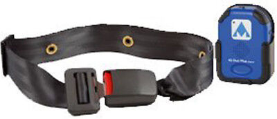 Early Warning E-Z Release Seatbelt with TR2 Alarm, Alimed,