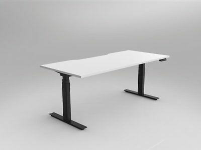 Nimble - Sit & Stand Height Adjustable Desk Automatic / Electric - Black Frame
