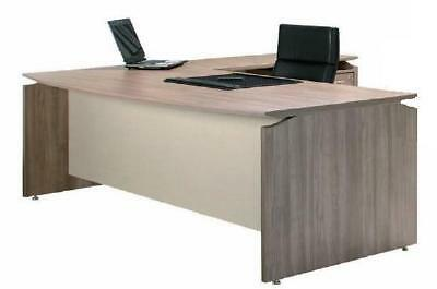 V3 Bow Front Desk 33mm