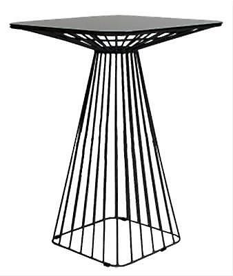 Cage Dry Bar Table Frame in Black, White