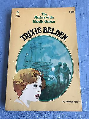 Trixie Belden The Mystery Of The Ghostly Galleon No 27