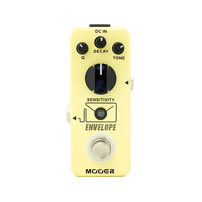 New Mooer Envelope Dynamic Auto Wah Electric Guitar Effects Pedal True Bypass