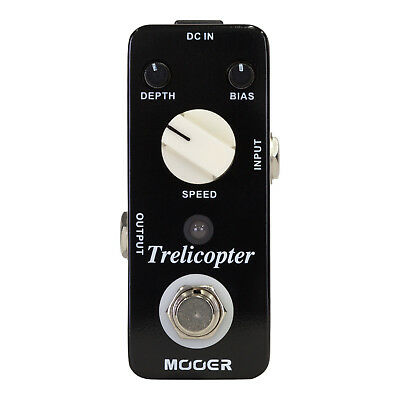 Mooer Trelicopter Optical Tremolo Micro Electric Guitar Effects Pedal True Bypas