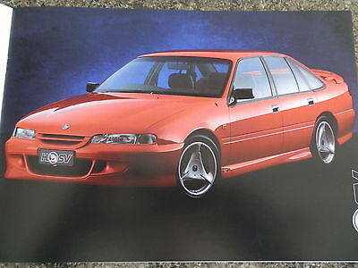 Hsv 1995 Vs Range  Holden Brochure With Bonus Spec Sheets.100% Guarantee