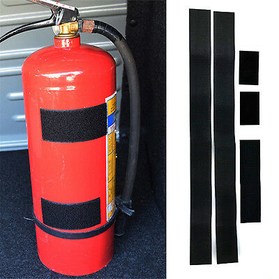 1x Car Auto Fire Extinguisher Fixing Holder Belt Sticker Straps Bracket For Car