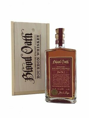Blood Oath Pact 2 Bourbon Whiskey 750ml 98.6 Proof / 49.3%alc. VERY LIMITED!!!