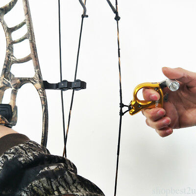 Hunter Pro Compound Bow Release Aid Trigger Archery 3 Finger Release Grip Top SH