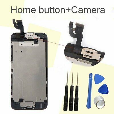 """For Black iPhone 6 4.7"""" LCD Display Screen Digitizer With Home button+Camera"""