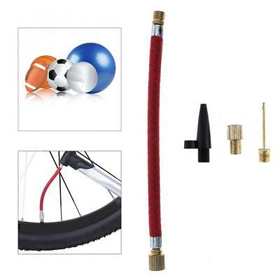 4Pcs Bicycle Airbed Sports Ball Pumps Inflating Kit Inflator Extension Tube Tool