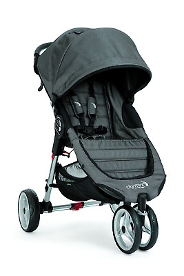 Baby Jogger City Mini 3, Black Denim/Charcoal