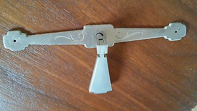 """1 Large Metal Heavy Vintage Drawer Pull 6"""" with drop arts & crafts ?"""