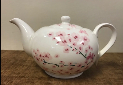 Fine China Teapot BNIB Themed : Redoute Rose Poppy Farm Animals Strawberry Fayre