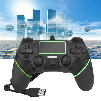 For Sony PlayStation 4 PS4 USB Wired Video Game Controller Joystick Gamepad