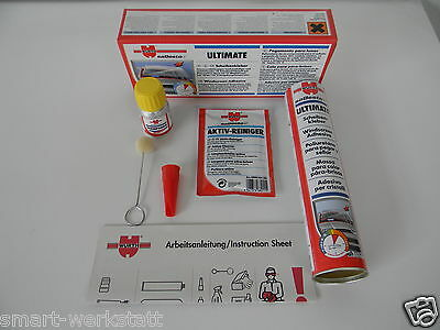 Scheibenkleber Set Würth Kleber+ Activator+Reinieger+Pinsel Mad In Germany